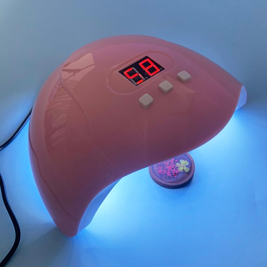 54 Вт УФ Смола бетонополивочная машина поделки смоляные ювелирных изделий инструмент Сушилка Гель 18 светодиодный свет лак для ногтей Инстру...