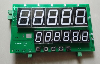 Counting Board 485 Communication Double Row Digital Tube Switch Input Switch Output