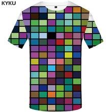 3d Tshirt Rubik'S Cube T shirt Men Tetris Tshirt Printed Psychedelic Tshirts Casual Colorful Shirt Print Harajuku Funny T shirts цена