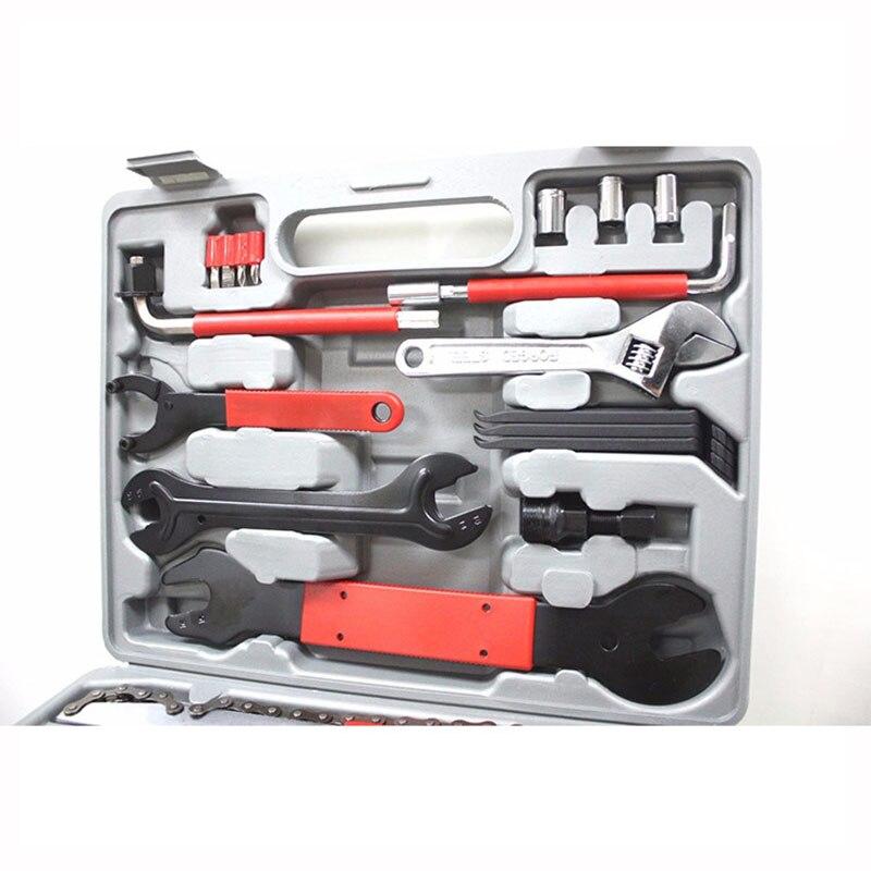 Tools : Bicycle repair kit Multifunctional Biking Tool Combination Tool Repair Box 44-in-1 Bicycle Repair Tool Set hand tools