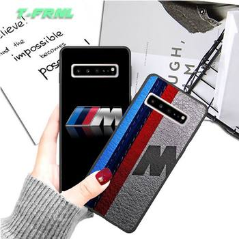 BMW Cool Car Phone Case Coque for Samsung Galaxy S20 Ultra S8 S9 PLUS S10 E J600 J6 2018 Cover Accessories image