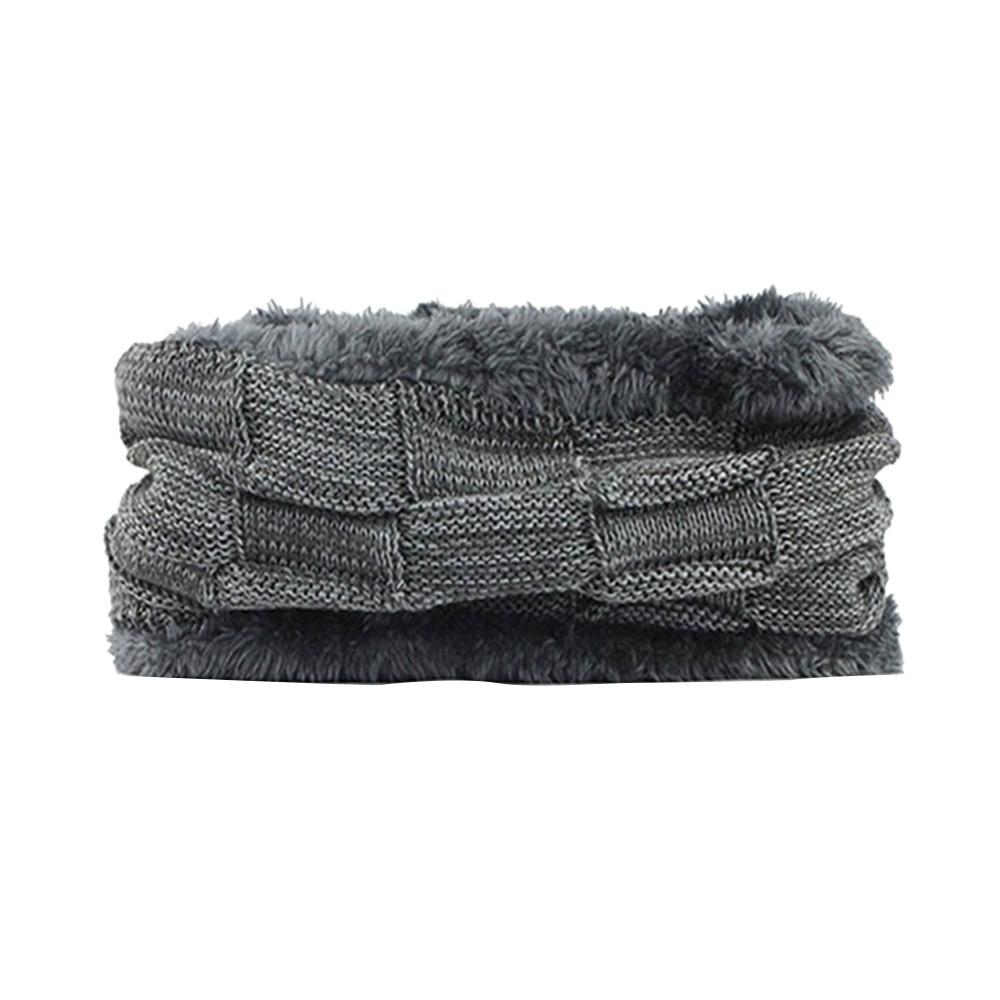 Hats Snood Scarfs Neck-Warmer Fleece Winter Fashion Women Unisex Casual Autumn HX08 Beanie