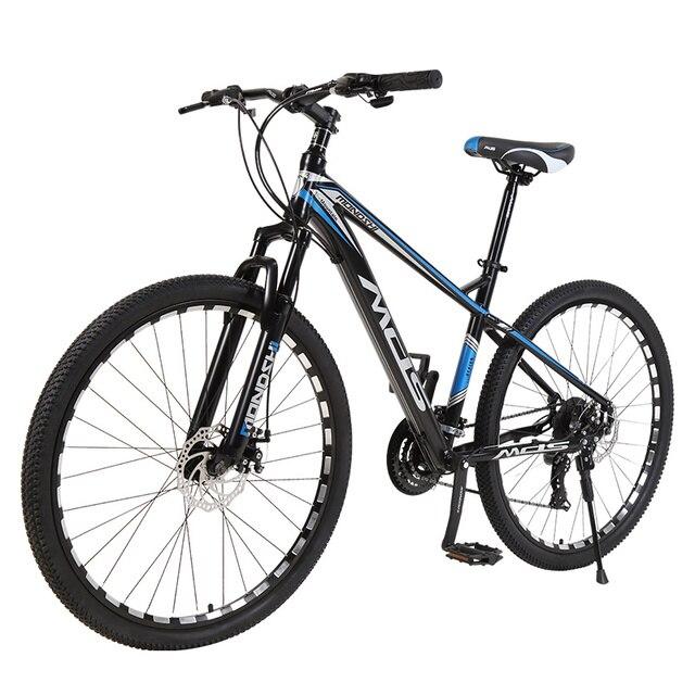 Mondshi27.5-inch mountain bike 24 speed disc brake damping front fork 2