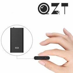 QZT Smallest Voice Recorder Mini MP3 Player Small Digital Audio Sound Recorder Micro Voice Recorder Dictaphone Recording Device