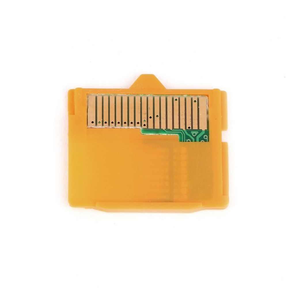 الأصفر 1 قطعة مايكرو SD مرفق MASD-1 كاميرا TF إلى XD بطاقة إدراج محول 25x22x2 مللي متر (L x W xH) ل أوليمبوس