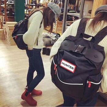 Novo unisex à prova dwaterproof água náilon ao ar livre viagem mochila sacos para portátil com clipe de pára-quedas casual leve mochila 1