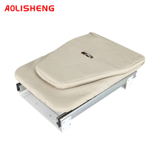 Cloakroom Concealed Push-pull Folding Ironing Board Buffer Damping Rotating Cloakroom Iron