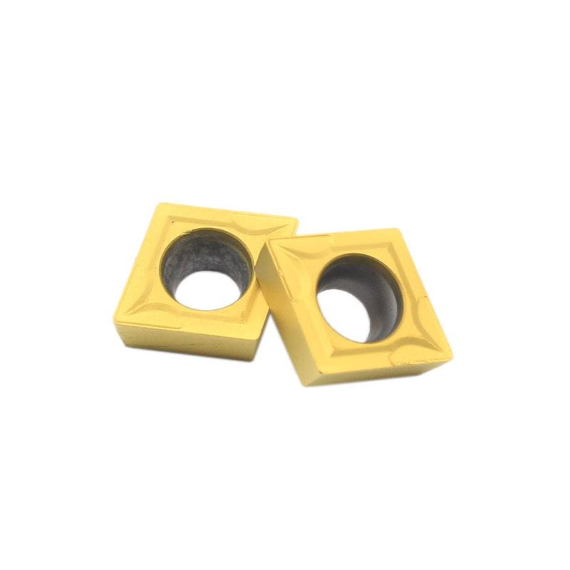 Купить с кэшбэком CCMT09T304 UE6020 Internal Turning Tools CCMT 09T304 Carbide insert Lathe cutter Tool turning insert