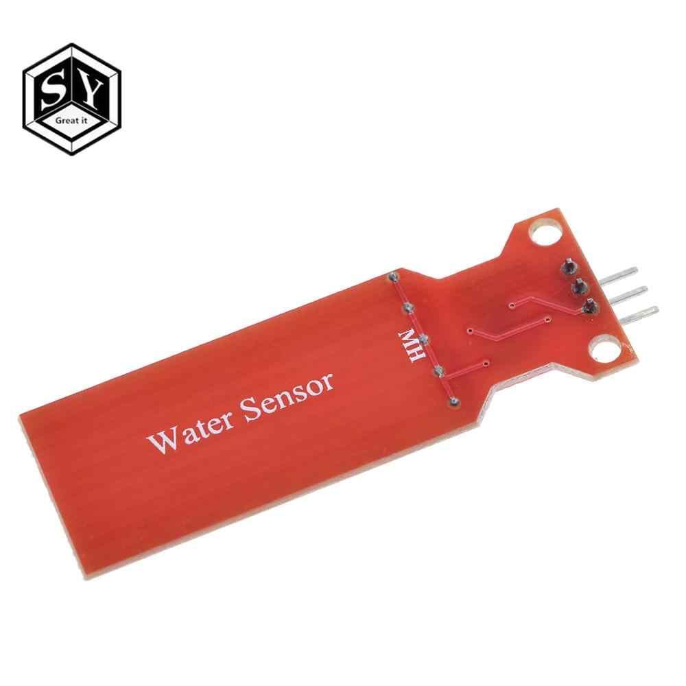 1PCS Regen Waterniveausensor Water Droplet Detectie Diepte voor arduino Compatibel met UNO MEGA 2560