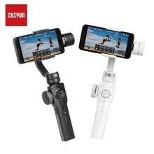 ZHIYUN Smooth 4 อย่างเป็นทางการSmooth 4 3 แกนโทรศัพท์GimbalsมือถือStabilizersสำหรับiPhone/Samsung/Xiaomi/Huawei/gopro/Yi Actionกล้อง
