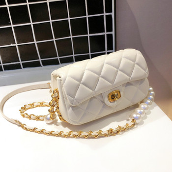 2020 New Famous Designer Pearl Chain Shoulder Messenger Bags High Quality Women Purse and Handbags Fashion Casual Crossbody Bags