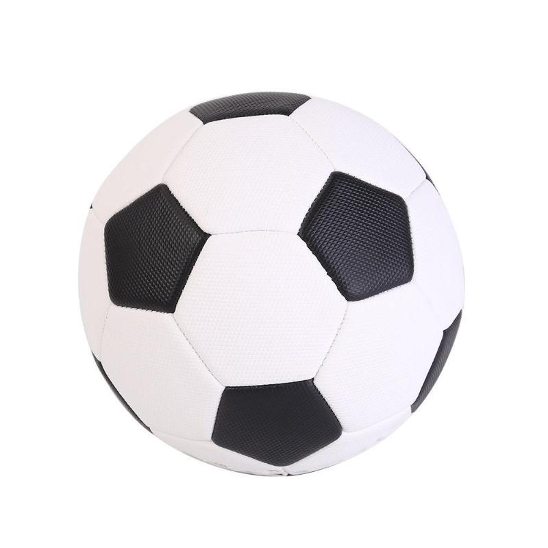 Durable Soccer Delicate Design Portable Size 4/5 Black White Soccer PU Children Student Match Training Football Ball