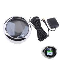 GPS Digital Boat Speedometer Gauges Speedo 85mm SOG COG 12V/24V Marine