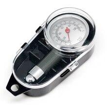 Medidor de pressão de ar para pneu, medidor de pressão de ar de automóvel, caminhão de metal, veículo, sistema de monitoramento, ferramenta de medição de pneus