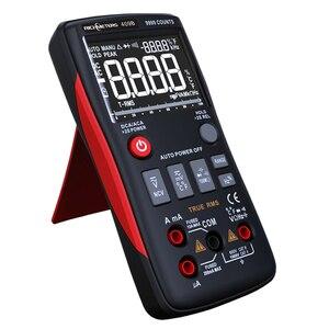 Image 5 - RM409B Digital Multimeter Taste 9999 Zählt Mit Analog Bar Graph AC/DC Spannung Amperemeter Strom Ohm Auto/Manuelle