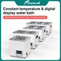 Лабораторная ванна для воды JOANLAB с постоянной температурой, ЖК-цифровой дисплей, лабораторное оборудование, термостат, бак 6 4 2 1 с одним отве...