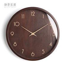 Большие деревянные настенные часы Ретро noridc современные кухонные