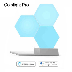 DIY Colo светильник, Квантовый, новинка, Ночной светильник, креативная Геометрическая сборка, умный светильник, приложение, домашняя панель, на...
