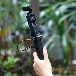 Image 3 - Ulanzi BG 2 6800mAh güç kavrama sopa Gopro 7 6 5 siyah Osmo cep eylem Vlog Selfie sopa Grip tipi C güç kaynağı