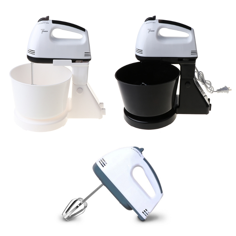 220V 7 Speed Automatic Electric Whisk Hand Food Mixer Bread Egg Beater Blender