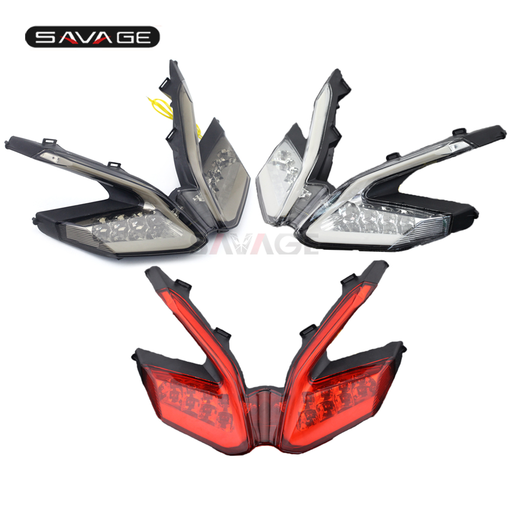 LED Taillight For DUCATI 899 959 1199/S/R 1299 Panigale Motorcycle Ultra Bright Tail Brake Light Integrated Blinker Lamp