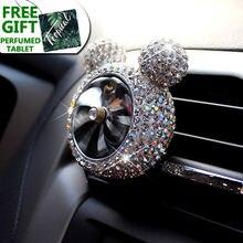 Освежитель воздуха для автомобиля креативный освежитель с кристаллами