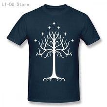 Lord Of The Ring Blak T Shirt Pattern Over stampato divertente Casual manica corta stile estivo camicia