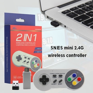 Image 3 - Wireless Gamepad 2.4GHz remote controller SNES USB joystick Console for Nintendo Games for Windows PC Raspberry Pi Retro Pie