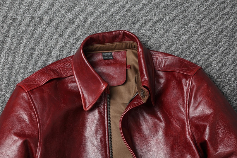 Hede4fc27985f4ab1b1b634369df009c1S Free shipping.Warm Mens classic genuine leather Jacket,quality men's vintage flight jackets.Eur Plus size Casual A2 coat.sales