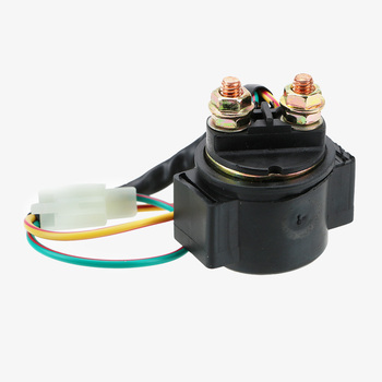 цена на High Quality Motorcycle Spare Part Starter Solenoid Relay for GY6 50cc 125cc 150cc 250cc ATV Scooter Replacement Accessories 12V