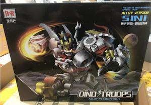 Image 5 - BMB dönüşüm Dinoking Volcanicus Grimlock cüruf çamur Snarl Swoop slash Dinobots 5IN1 alaşımlı aksiyon figürü Robot oyuncaklar