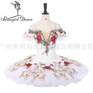 Image 1 - Coppelia Professionele Ballet Kostuum Voor Competiton Yagp Ballet Pannenkoek Tutu Vrouwen Paquita Tutu BT9284