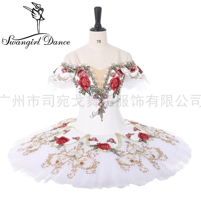 Coppelia Professionele Ballet Kostuum Voor Competiton Yagp Ballet Pannenkoek Tutu Vrouwen Paquita Tutu BT9284