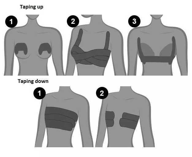 عالية الجودة عارية البيج الأسود تان رفع Booby الشريط مقاوم للماء لتقوم بها بنفسك الثدي رفع الثدي الشريط دروبشيب