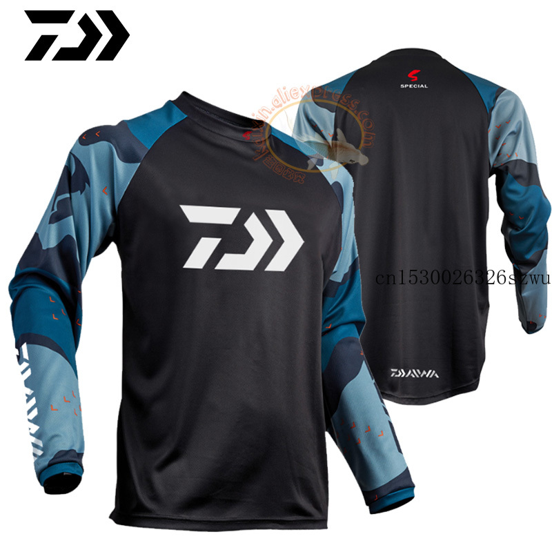 2020 New DAIWA DAWA Fishing Clothing Spring Long Sleeve Deep Sea Sunscreen Breathable Clothes Anti UV Ultrathin Fishing Shirt|Fishing Clothings| |  - title=