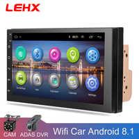 LEHX 7''Car Android 8.1 autoradio voiture GPS Navigation multimédia lecteur vidéo dvd pour Volkswagen Nissan Hyundai Kia toyota CR-V