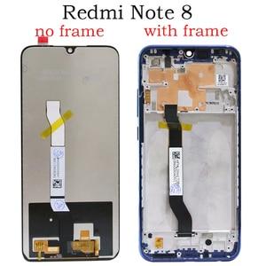 Image 2 - 100% Originele Display Vervanging Voor Xiaomi Redmi Note 8 Lcd Touch Screen Digitizer Vergadering Voor Redmi Note8 Met Logo