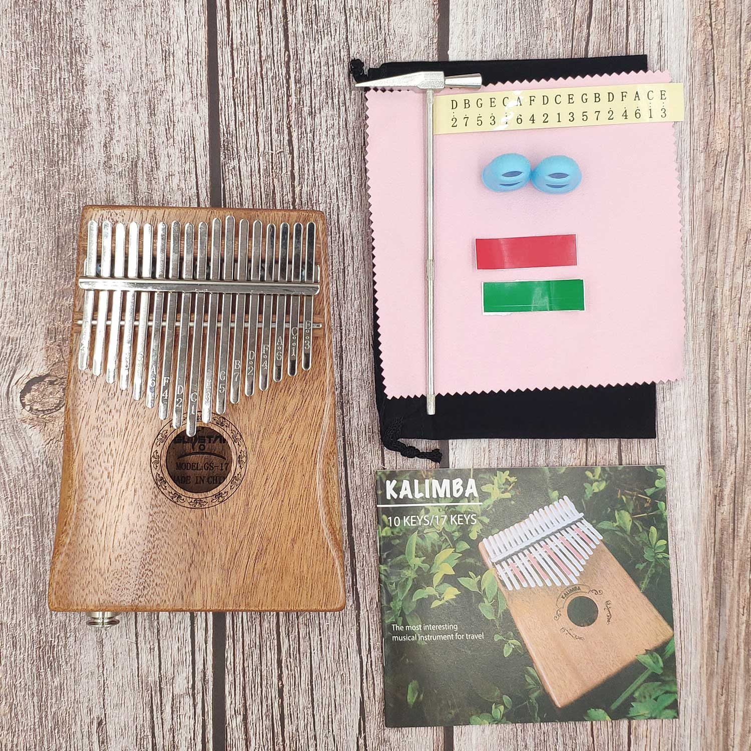 -key Kalimba African Festival Jaws Mahagoni Thumbs Finger Piano Sanza Mbira Calimba Games With Guitar Wood Musical Instruments