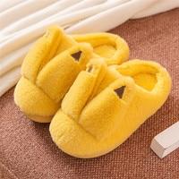 Winter Kinder Schuhe Weiche Plüsch Hausschuhe Für Home Innen Warme Pelzigen Plattform Rutschen Flache Slip Auf Junge Hausschuhe Mädchen Schuhe flip-flop