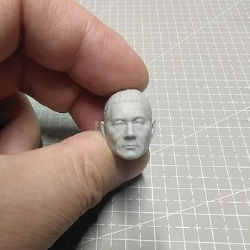 1/12 Scale Kitano Takeshi Beat Head Sculpt Unpainted fit 6 Figure ML Mez One:12 B011 image