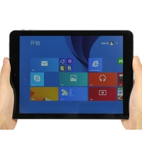 big sales 9.7 inch 2+32G Dual System Windows 8.1+Android4.4 Quad Core 2048x1536  IPS screen