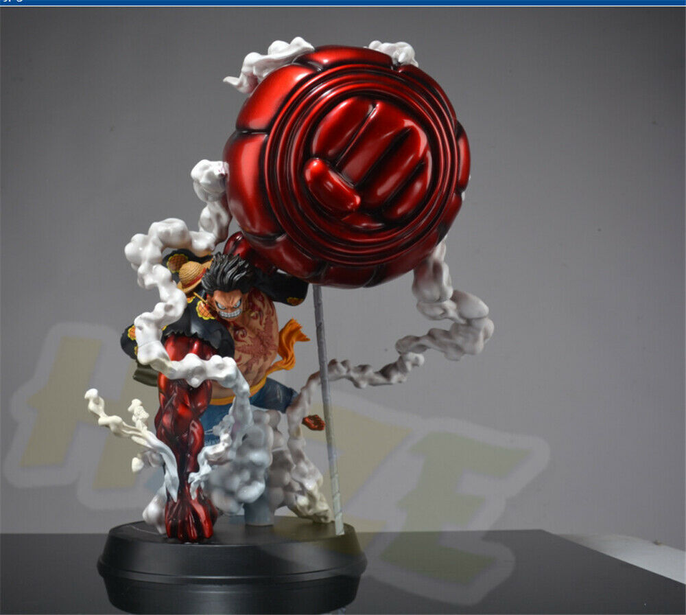 One Piece Monkey D. Luffy Statue Painted Model Gear Fourth GK Anime One Piece Action Figure Toys Collection 50cm In Box