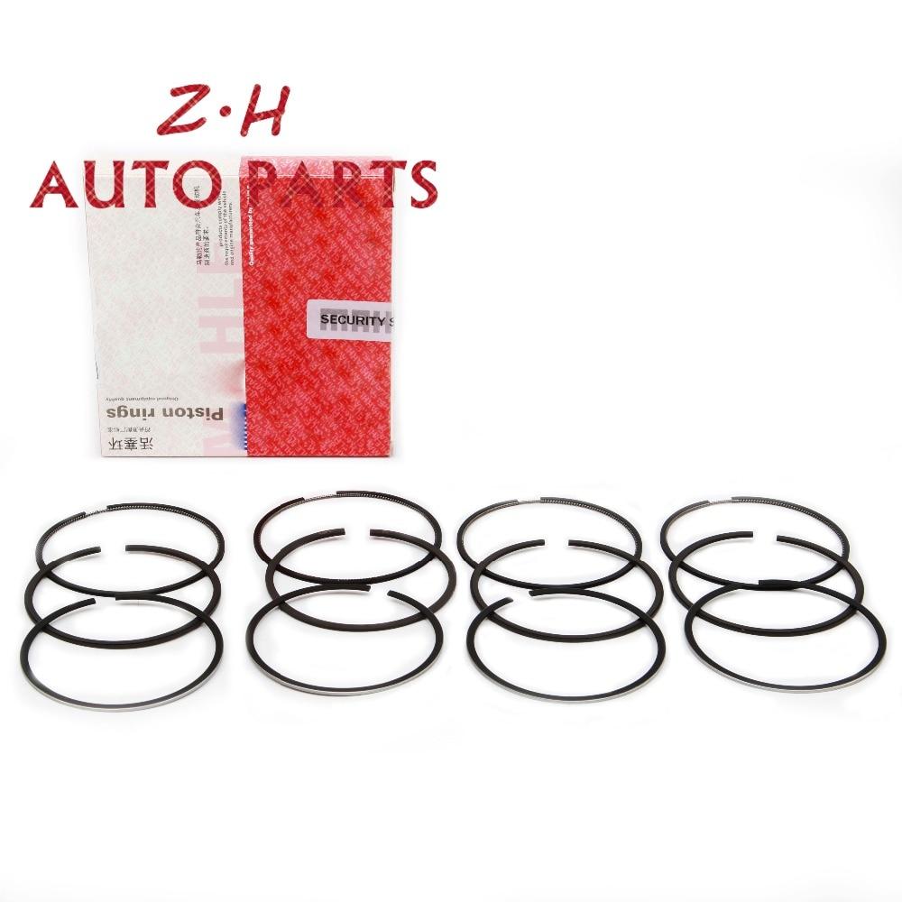 New STD Engine Piston Ring Kit 06B 198 151 C For Audi A3 A4 S4 VW Golf Jetta Passat Touran Beetle Skoda Seat 1.6L 06B198151C