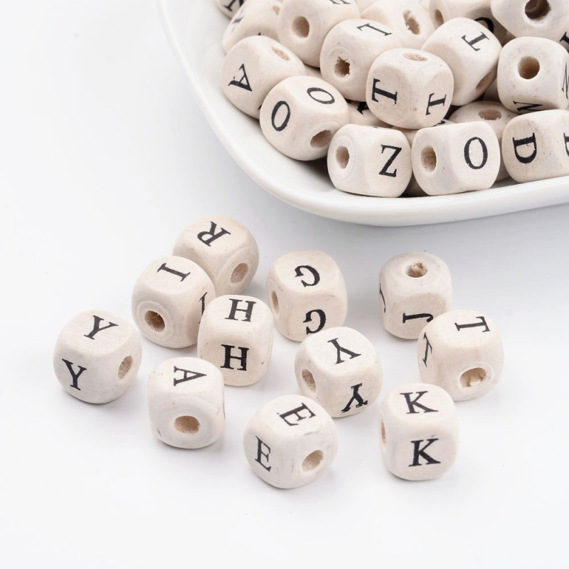 10 x 10mm DICE//CUBE BEADS WHITE//BLACK//COLOURED JEWELLERY MAKING//CRAFTS//KIDS