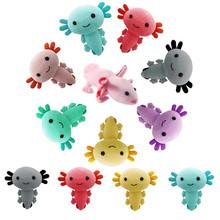 Cartoon Axolotl pluszowe zabawki Kawaii miękkie pluszaki pluszowe zabawki lalka na Halloween poduszka do spania dla dziecka Ragdoll dzieci dziewczyny prezent tanie tanio XZCAI CN (pochodzenie) Tv movie postaci MATERNITY W wieku 0-6m 7-12m 13-24m 25-36m 4-6y 7-12y 12 + y 18 + Genius Lalka pluszowa nano