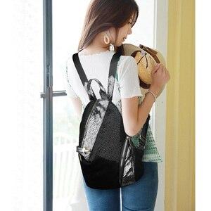 Image 5 - Mochilas de moda para mujer, bolsos escolares informales para chicas adolescentes, mochila impermeable de alta calidad, bandoleras para mujer 2019