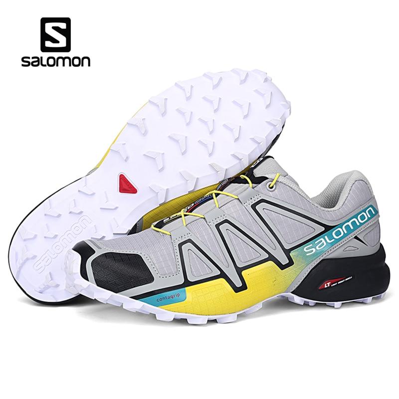 Salomon Speed Cross 4 Men Shoes CS Sport Outdoor Breathable Zapatillas Hombre Mujer Male Fencing Sneaker Speedcross Shoe