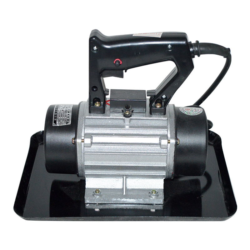 250W Cement Vibrating Troweling Machine 220V Hand-held Iron Shell Concrete Vibrator With 1M Cable 2840times/m 29cm*22cm