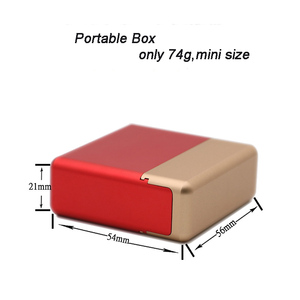 Image 5 - Antiproof 12 Holes Mini Mental Box For IQOS Cigarette For LIL Cigarette Carrying Case Cigarette Holder Box Case