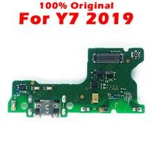 Original Charging Board For Huawei Y7 2019 USB Charging Port on Y7 2019 PCB Dork Connector